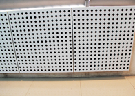 High strength Perforated Aluminum Wall Panels with Accoustical Backing